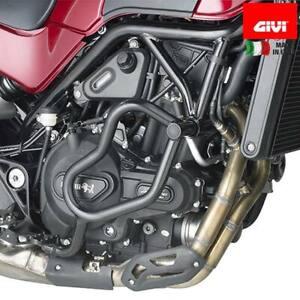 GIVI TN8704 Paramotor Tubular Negro Benelli Leoncino 500 (17)
