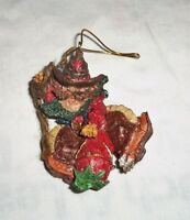 Country Western Cowboy Riding a Red Chili Pepper Christmas Tree Ornament Resin