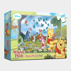 """Jigsaw Contemporary Puzzles 500 Pieces """"Winnie the Pooh"""" / Disney / D514"""