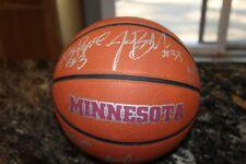 VINTAGE MINNESOTA GOLDEN GOPHERS Women's Basketball Team SIGNED Baden Ball