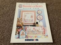(XSC) CROSS STITCH CHART - LINDA GILLUM BUNNIES N BEARS BOOK 10