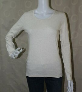 Uniqlo Long Sleeve Shirt Blouse Tops for Women size may fit Medium - Large frame