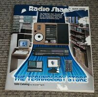 Vtg Radio Shack 1989 Catalog #432 realistic CELL PHONE STEREO SPEAKERS COMPUTERS