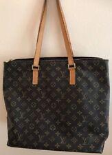 AUTHENTIC Louis Vuitton Monogram Canvas Cabas Mezzo Shopping Bag With Dust Bag