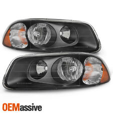 Fit Mack Granite GU7/GU8/CV + Vision CX 600 Truck Black Headlights Replacement
