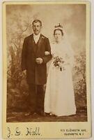 Vintage Wedding Cabinet Card Photo c.1900