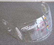 Nitro Team Racing Sport Helmet Clear Visor Screen Replacement Part : 107200