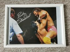 Ricky Steamboat Signed 8x10