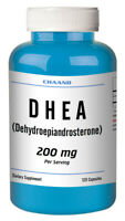 DHEA 200mg 120 Capsules 2 Month Supply Diet Supplement Antioxidant Best Quality