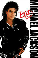 Michael Jackson - BAD Movie Poster Single Sided 24X36 inches