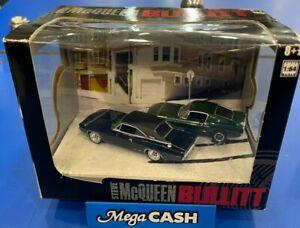 Greenlight Dioramas Series 1 Limited Edition  Steve McQueen Bullitt 1:64 Scale