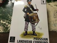1/32 54mm Napoleonic Prussian Landwehr Command Infantry 9325