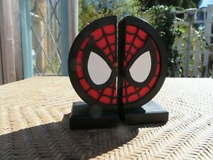 Gentle Giant Spider-Man Logo Bookends Marvel Comics Limited Edition 3000