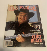 Vintage Country Music Magazine May/June 1991 Clint Black Cover