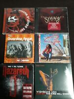 ATOMIC ROOSTER,DEF LEPPARD,GUARDIAN ANGEL,GILLAN,NAZARETH,WISHBONE ASH -  6 CD