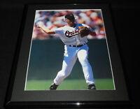 Cal Ripken Throwing Framed 11x14 Photo Display Orioles