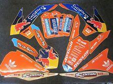 KTM SX/SXF 125-450 2013-2015 Team TLD USA graphics + plastic kit GR1529