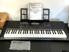 Casio Keyboard w Stand Ctx5000 Portable 61 Full Size Keys No Reserve