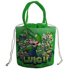 Super Mario Bros Luigi Lunch Box Food Bag Portable Heat Preservation p20 w0086
