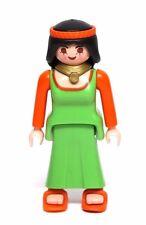 Playmobil Figure Custom Castle Merry Men's Feast Lady Maiden Wavy Hair 3627