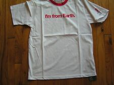 "2008 BEIJING OLYMPICS SHIRT FOR COCA COLA TITLED ""I'M FROM EARTH"" SIZE SMALL"