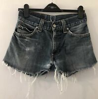 Levi's Reworked Distressed Festival Summer Denim Shorts W30""