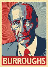 William S. Burroughs - Junkie, Novelist, Essayist - A Poster by Atelier Bagatell