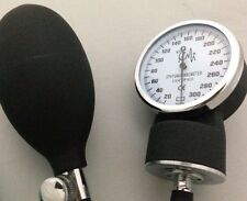 New Aneriod Sphygmomanometer Blood Pressure Bp REPLACEMENT: Bulb, Valve,& Gauge