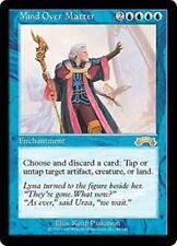 MIND OVER MATTER Exodus MTG Blue Enchantment RARE