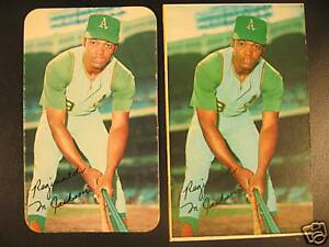 Crazy Rare 1970 Topps Super PROOF - Reggie Jackson A's