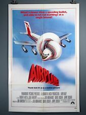 "Airplane! Original 1980 Movie Poster. 27 x 41"" Nielsen"