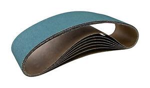 "6"" x 48"" Zirconia Alumina Grain Sanding Belt 50 Grit X-weight USA 1pc CGW 61635"