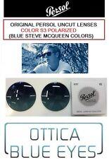 Lenti di ricambio Persol S3 Blue Polarized Uncutted Lenses Steve McQueen Lens