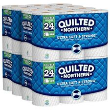 Quilted Northern Ultra Soft & Strong Toilet Paper w CleanStretch, 48 Double Roll
