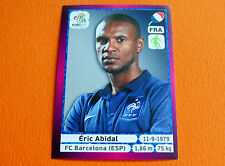 464 ERIC ABIDAL BARCELONA FRANCE  FOOTBALL PANINI UEFA EURO 2012