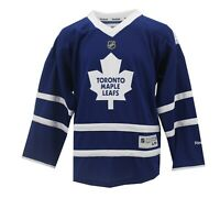 Toronto Maple Leafs Official NHL Reebok Kids Youth Size Hockey Jersey New Tags