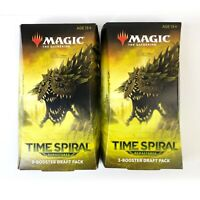 Magic The Gathering MTG Time Spiral Remastered 3 Booster Draft Pack Lot of 2
