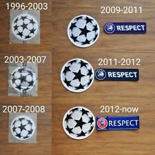 ALL Champions League Badges / Patches LEXTRA Football Shirt Soccer Jersey Retro