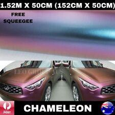 1.52M X 50CM CHAMELEON CAR VINYL WRAP FILM AIR RELEASE QUALITY STICKER