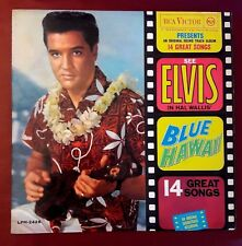 ELVIS PRESLEY - BLUE HAWAII Very Limited Italy 1962 RCA VICTOR Italian LP EX