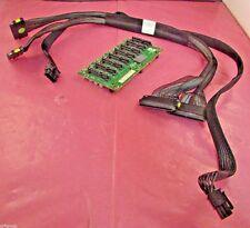 449420-001 - HP DL580 G5 SAS/SATA 8-Slot Backplane Board w/ Power & SAS Cables