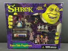 McFarlane Shrek Mini Figure Action Figure Playset Fairytale Fugitives NIB 2001