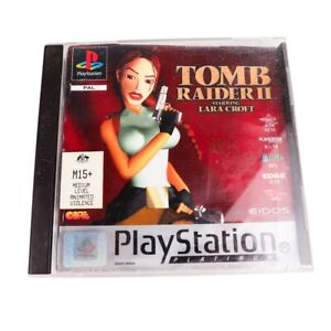 Tomb Raider 2 -  Sony PlayStation 1 - COMPLETE WITH TRACKING
