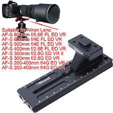 Trépied bride de base + Caméra Plaque Pour Nikon AF-S 200-400 mm f/4g Ed Vr & II