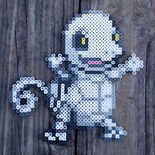 Skeleton Squirtle Pokémon Pixel Art Perler Bead Art