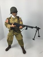 1/6 21ST CENTURY US 82ND AIRBORNE PARATROOPER BAR GUNNER DRAGON BBI DID WW2
