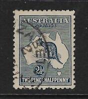 AUSTRALIA. Yvert nº 4 usado y defectuoso
