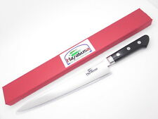 HAYABUSA SEKI JAPAN SUJIHIKI 240mm STAINLESS LARGE KITCHEN CUTLERY CHEF KNIFE