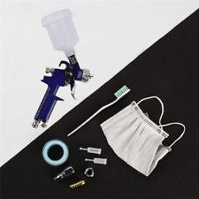 0.8mm Mini HVLP Air Paint Spray Gun Auto Car Detail Touch Up Sprayer Gravity