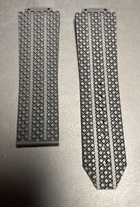 New Hublot OEM Black Rubber Strap 25 X 22MM